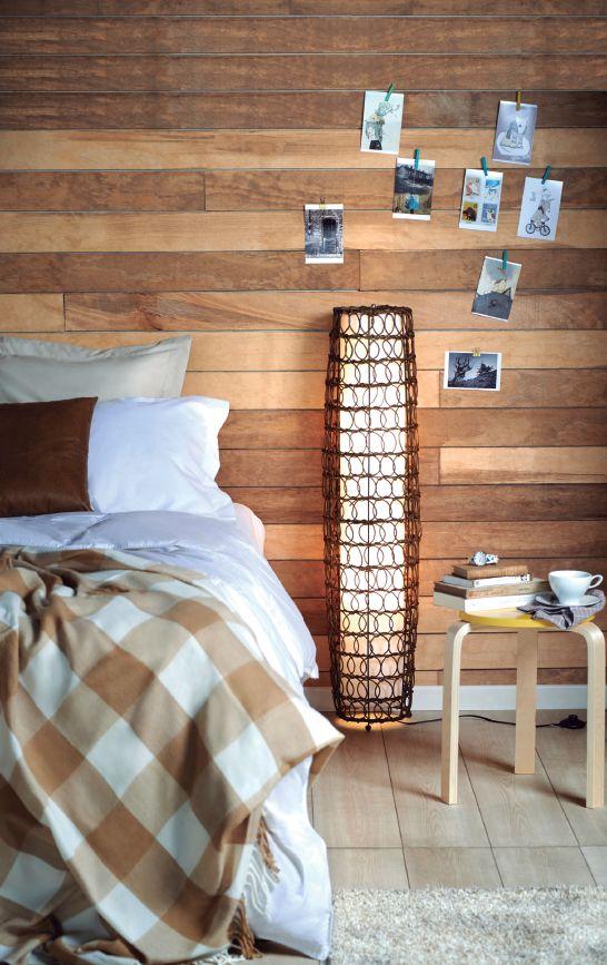 Utiliza lámparas de pie para un estilo #rústico. ¡Juega!  #Home #Deco #Easy #Light #EasyTienda #TiendaEasy #decotendencias