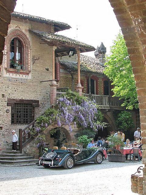Grazzano Visconti, Emilia-Romagna, Italy