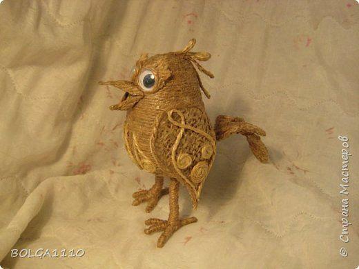 Вообще то это должен был быть кузнечик))) Но в процессе как то  сам собой превратился в птичку.Толи скворец , а может быть петушок. Вообщем ПТИЦ. фото 2
