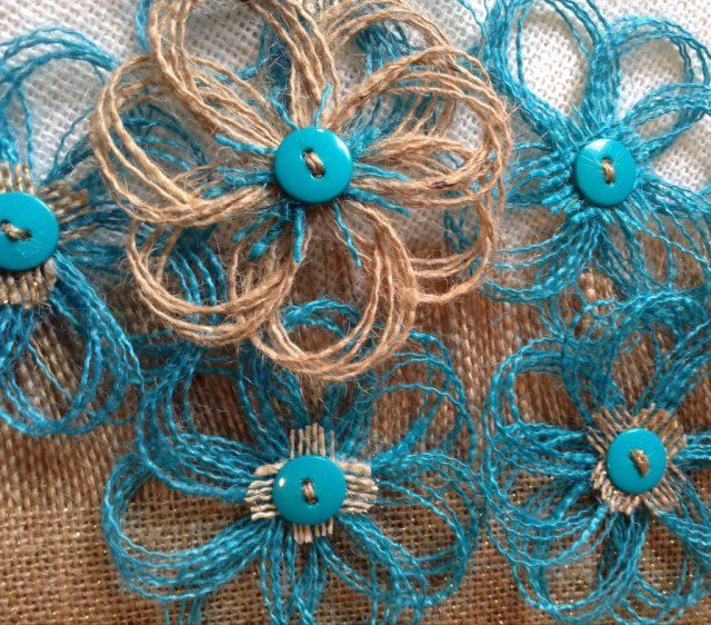 Turquoise and Natural Burlap Party Decorations - rustic Wedding Decorations - Aqua - Teal