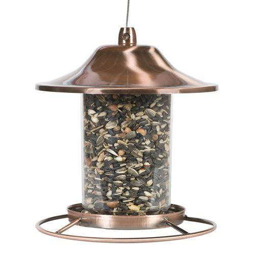 Perky-Pet Copper Panorama Bird Feeder 312C