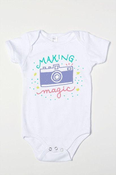Making Magic Baby Girl One-Piece