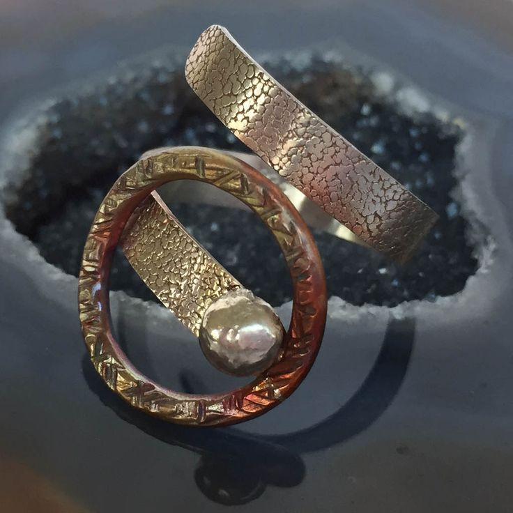 Ray of Hope; Sparkle Collection Mixed Metal (Copper & Sterling Silver) Adjustable Ring; Handmade Jewellery; makeforgood by TLHinspired on Etsy https://www.etsy.com/au/listing/460206966/ray-of-hope-sparkle-collection-mixed