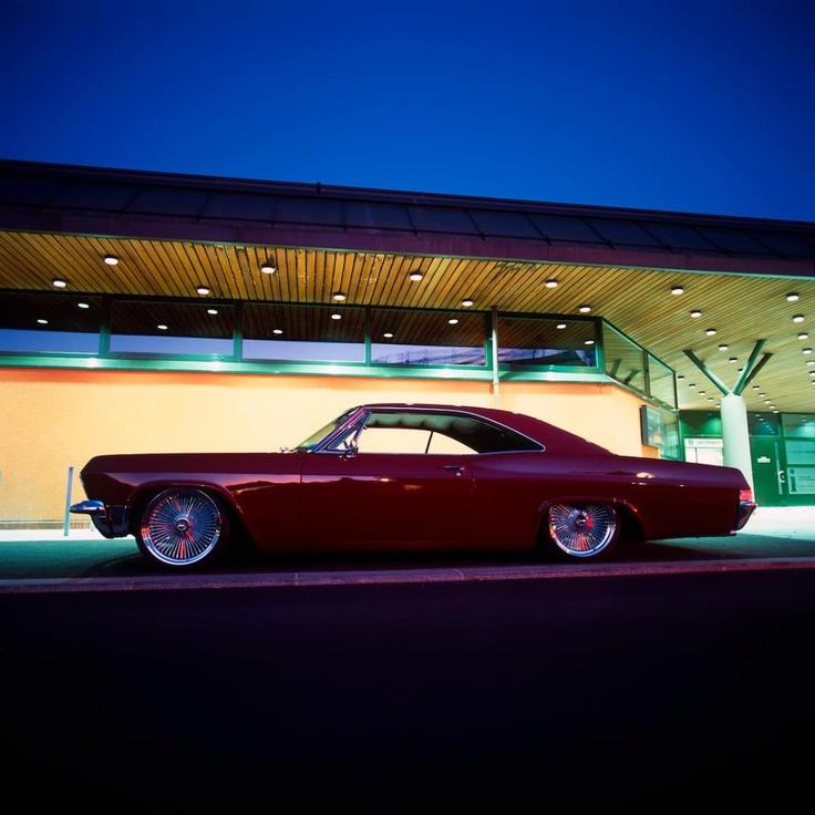 Chevrolet Impala Lowrider Design Four Wheels