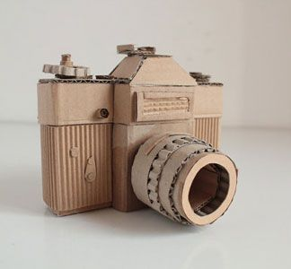 Cardboard Camera Zenite by OupasDesign on Etsy