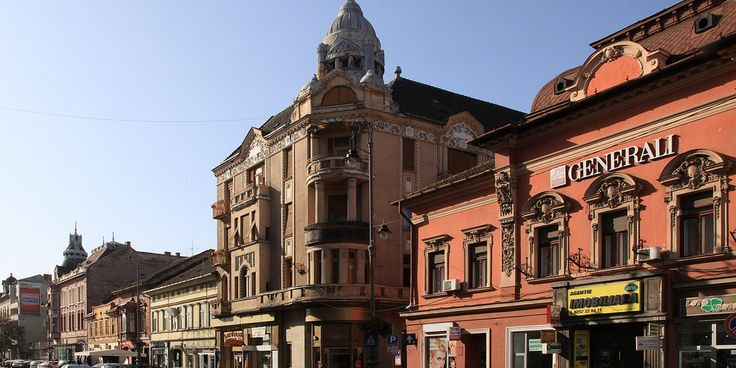 The Bohus Palace in Arad Romania is a historical architectural brilliant masterpiece.