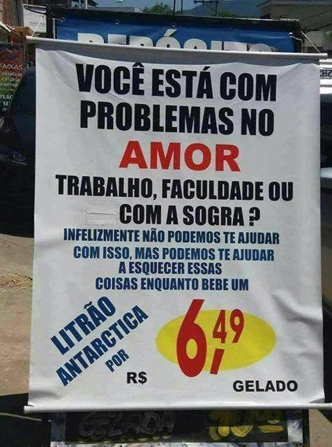 Há solução pra quase tudo.   100 imagens 100% brasileiras para confirmar que você nasceu no país certo