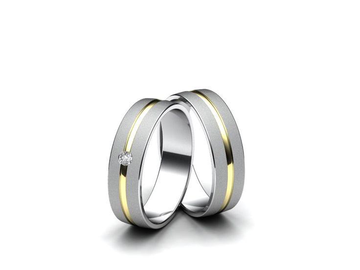 Snubní prsteny A116  #aiola #wedding #rings