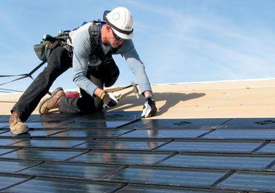 solar energy roof tileas
