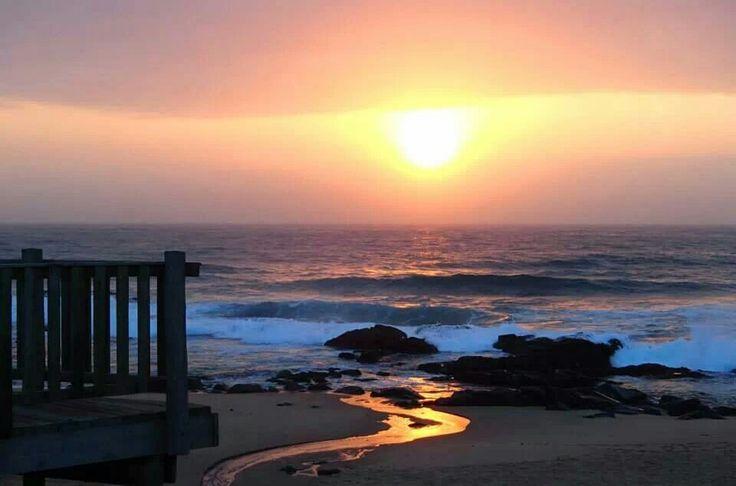 Sunrise over Ballito