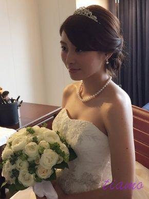 美人花嫁さまの幸せホテルウエディングな一日♡♡ | 大人可愛いブライダルヘアメイク 『tiamo』 の結婚カタログ