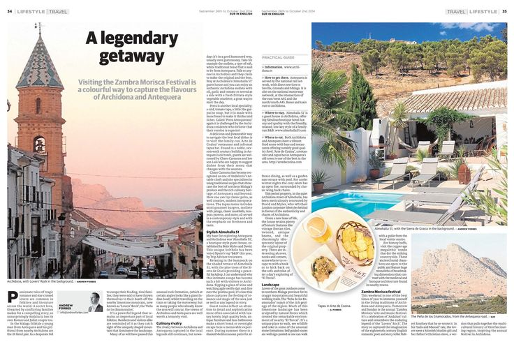 A legendary getaway – Archidona and Antequera - travel feature by Andrew Forbes www.andrewforbes.com #luxurytravelpursuits #luxestyletravel
