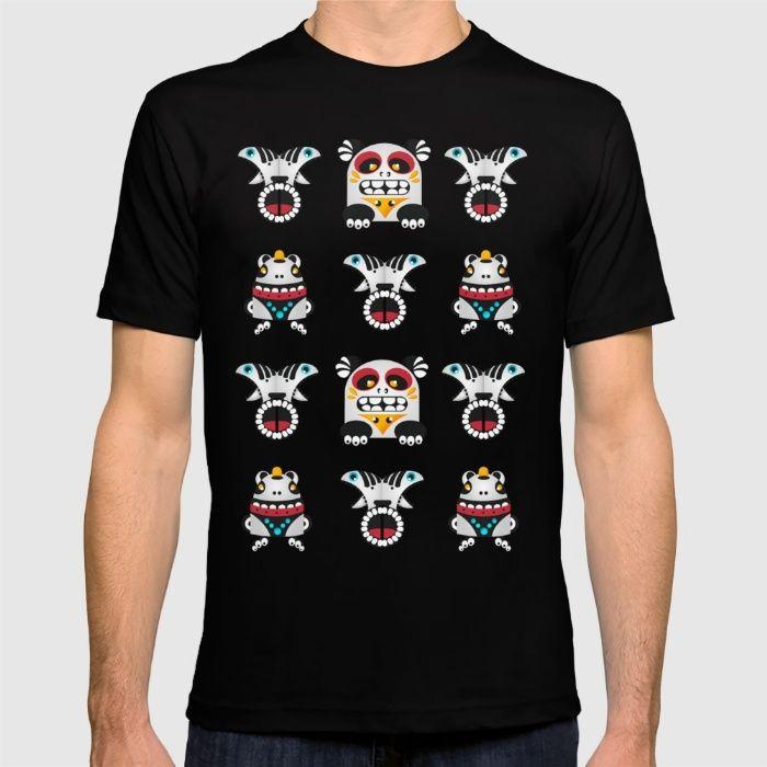 totem figures T-shirt