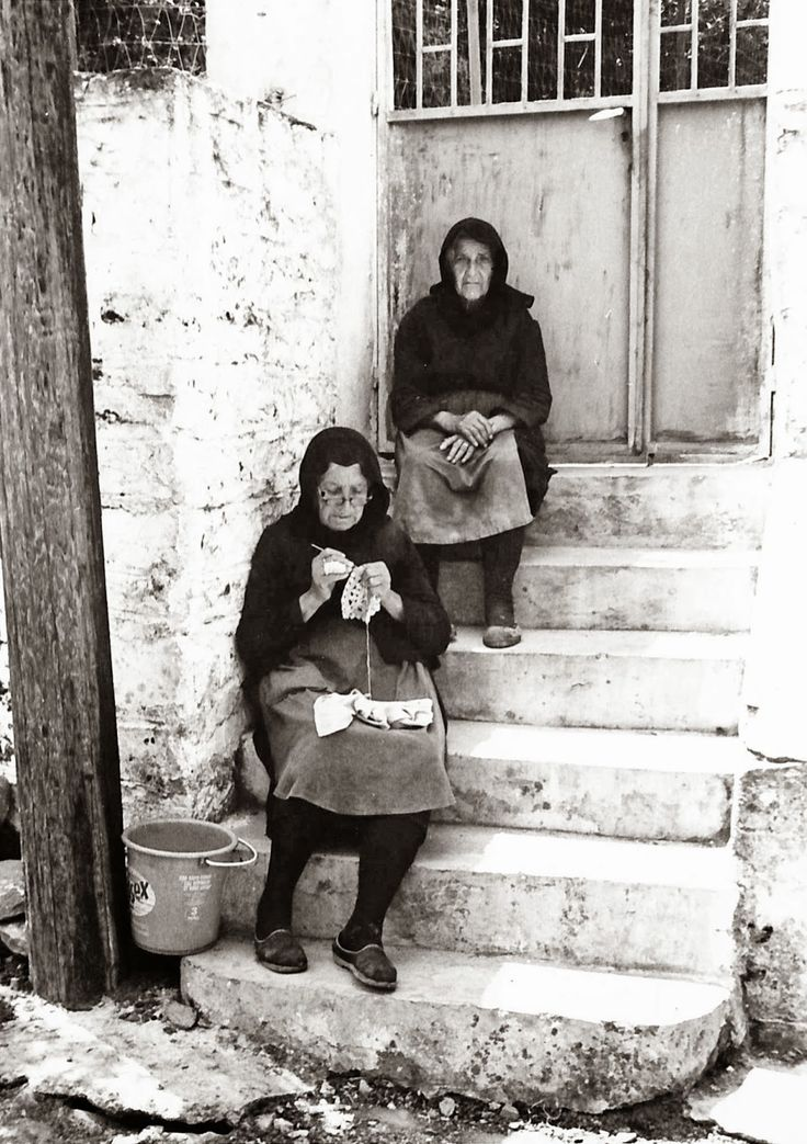 More Yarn Will Do The Trick: Mani, Greece in the 1970s