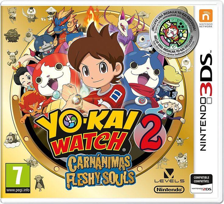 Yo-Kai Watch 2: Fantasqueletos + Medalla - Edición Especial Limitada: nintendo 3ds: Amazon.es: Videojuegos