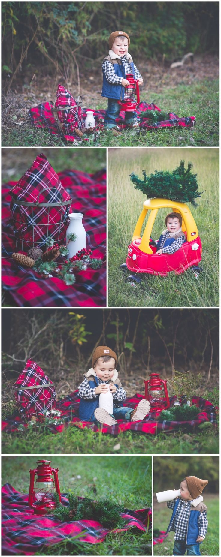 Lumberjack Christmas 2014 | Laraina Hase Photography | Blog | Little Boy Christmas Pictures
