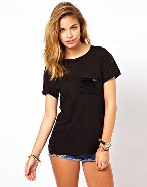 black, czarna koszulka