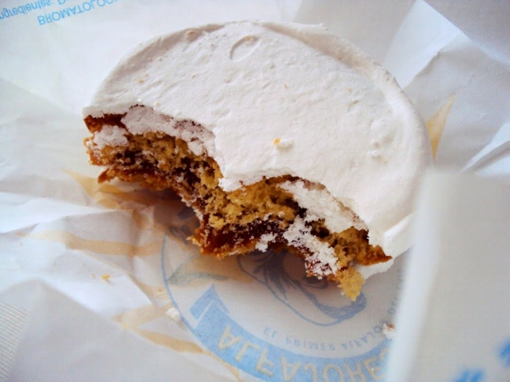 Alfajor (Montevideo, Uruguay)  Probably my favorite dessert of all time, I misss Dominican food :(