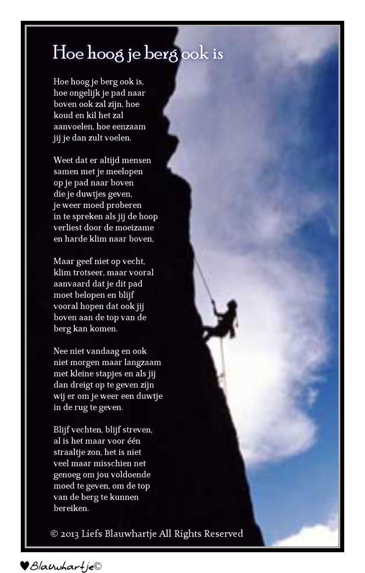 SE2 - opdracht - alliteratie- 'Hoe hoog je berg ook is....' - kun je vijf keer alliteratie in dit gedicht vinden?
