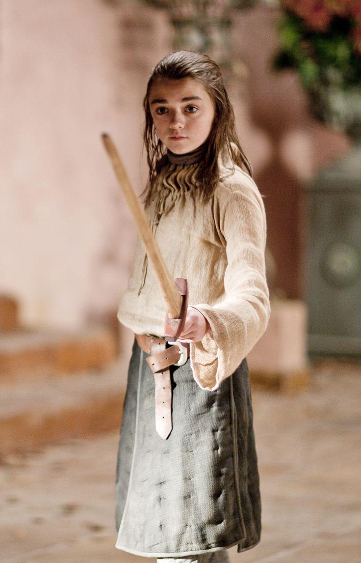 Arya Stark   Maisie Williams   GoT season 1