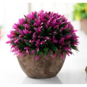 (NO.4)simulation bonsaï fleurs artificielles en pot vert fleurs plante orchidée en pot lieu décoration de la maison - Achat / Vente fleur artificielle - Cdiscount