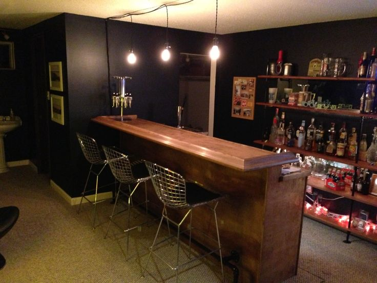 Diy Bar Ideas Awesome Ideas With Great Diy Basement Bar With Lamp Designer  Ideas