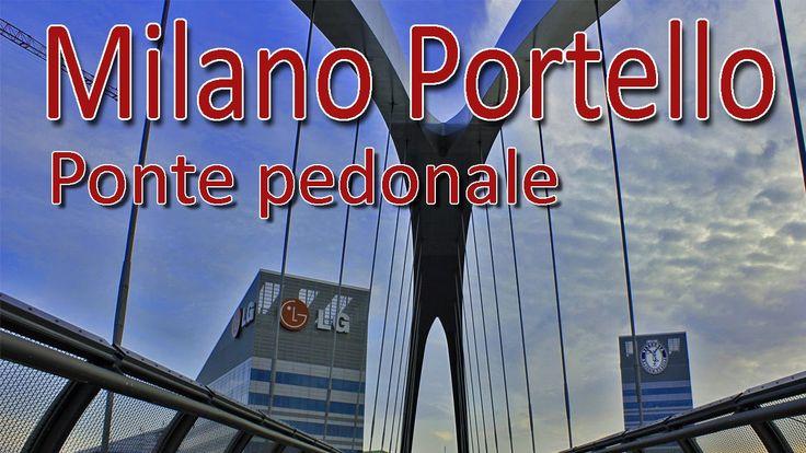 il ponte pedonale del Portello