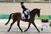 Emma Booth of Australia, onboard Zidane during Equestrian - Dressage - Individual Championship Test - Grade II Final on day 8 of the Rio 2016 Paralympic Games at the Olympic Equestrian Centre on September 15, 2016 in Rio de Janeiro, Brazil.