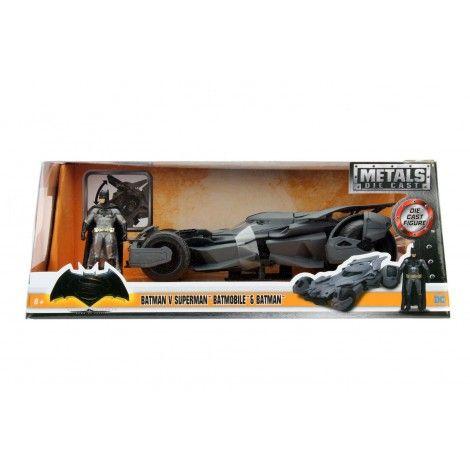 Jada Batman VS Superman - Batmobile & Batman Diecast 1/24