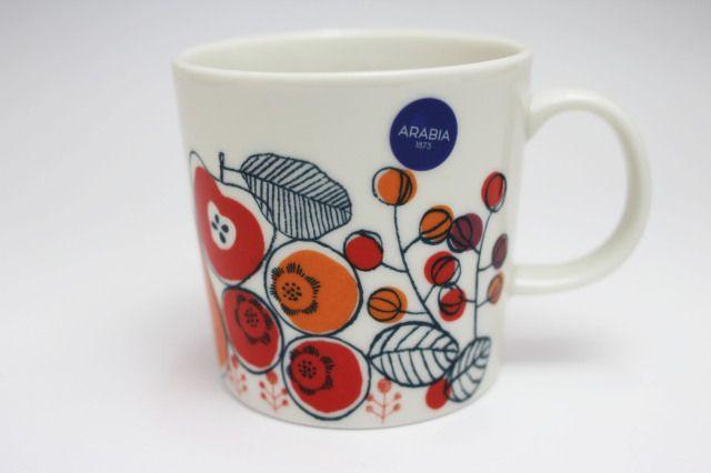 """アラビア / 北欧食器 Kimara キマラ マグカップ size: 0.3L  フィンランド語でメドレーを意味する""""Kimara""""シリーズ。"""