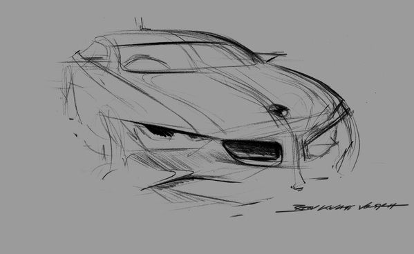 BMW Grand Tourer Concept by Benjamin Knapp Voith, via Behance