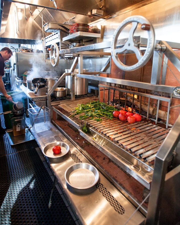 15 Outstanding Industrial Kitchens: 25+ Best Ideas About Restaurant Kitchen Design On