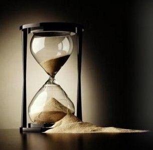 El tiempo que se nos escapa...