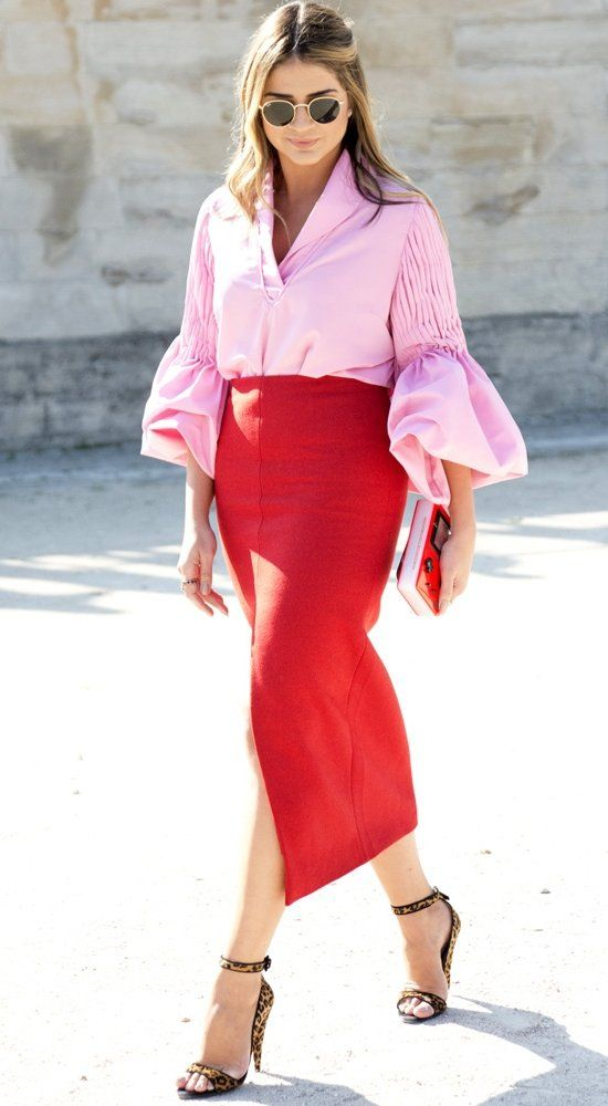 Why you should not be discouraged by the mid-calf silhouette. Find the statement skirt that best flatters your body.