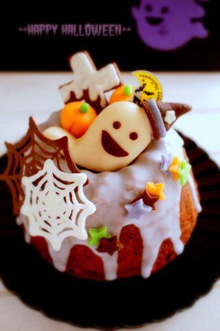 Happy ハロウィンケーキ by あきmamaさん   レシピブログ - 料理ブログのレシピ満載!