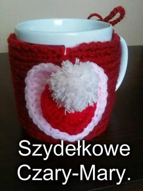 Walentynki # sweterek # kubek #