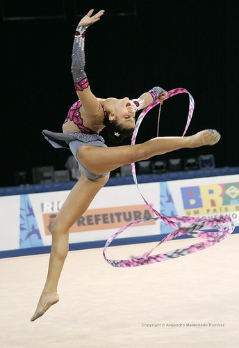 Pretty Ballerinas with The Olympics: Dancers Sports