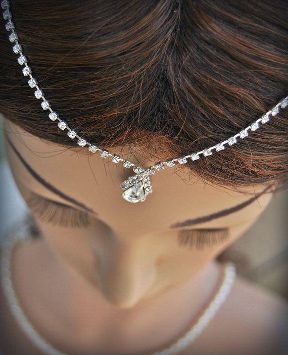 Hochzeit-Tikka-Headpiece  indisch inspirierte von TheBrightShop