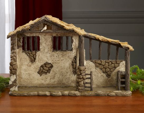 nice to make in polymer clay and add a piece to the nativity village each year!!