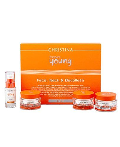 Christina – Forever Young Face , Neck & Decollete Kit - http://best-anti-aging-products.co.uk/product/christina-forever-young-face-neck-decollete-kit/