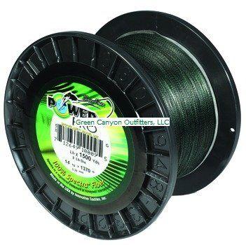 PowerPro Moss Green Line- 10lb/ 500 Yd #21100100500E - http://bassfishingmaniacs.com/?product=powerpro-moss-green-line-10lb-500-yd-21100100500e