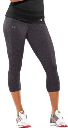 Softest women's athletic capris, built for your toughest training. <---I prefer these type of leggings to work out in.