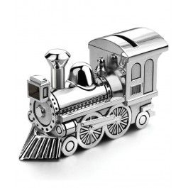 Visul oricarui baietel se indeplineste cu pusculita argintata locomotiva