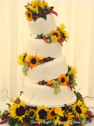 557 best Sunflower Wedding images on Pinterest