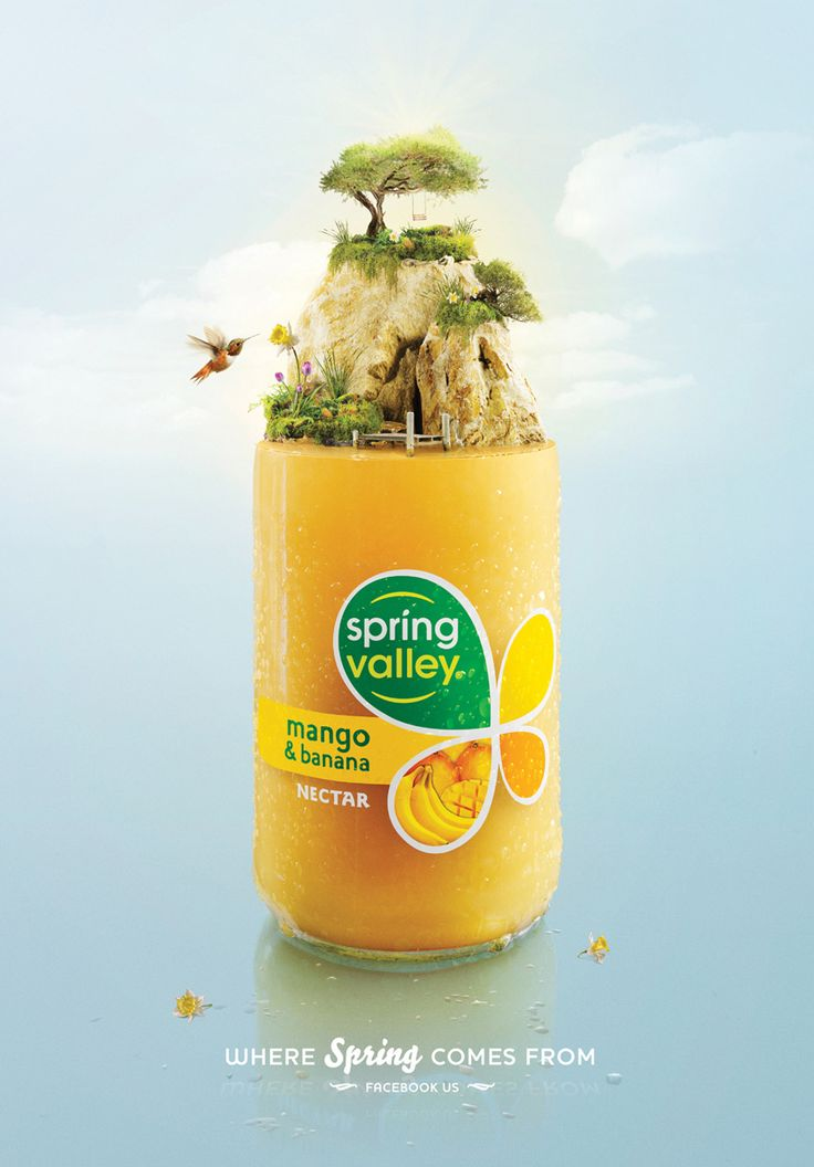 Spring Valley #ad #advertisement #advertising