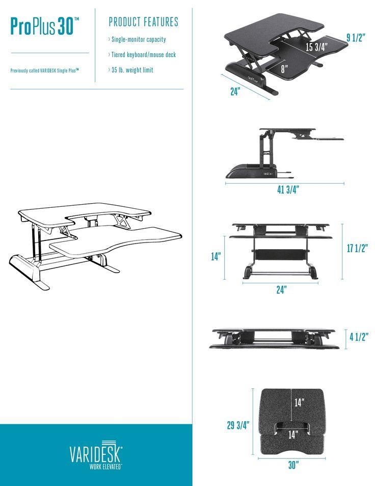 Standing Desks | VARIDESK®