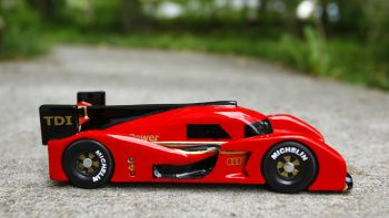 Pinewood Derby Audi R18 - Click above for high-res image gallery As kids, there were only so many outlets available to satiate our automotive obsession