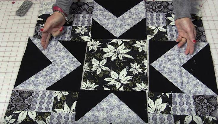 Winter Memories Star Quilt Free Pattern Sew What S