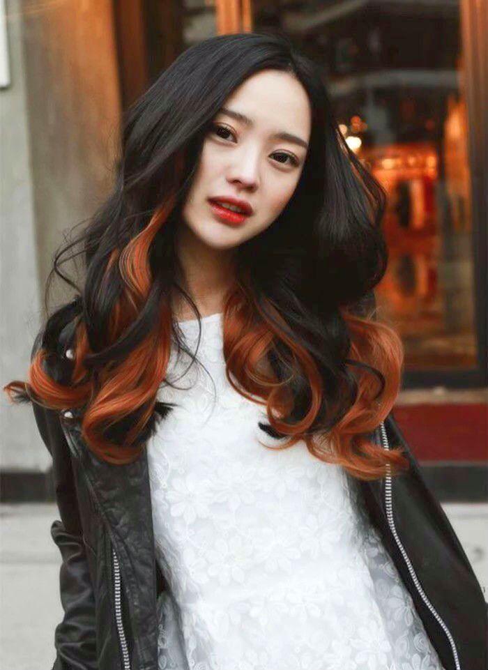 awesome 50 примеров мелирования на черные волосы — короткие и длинные прически (Фото) Читай больше http://avrorra.com/melirovanie-na-chernye-volosy-foto/