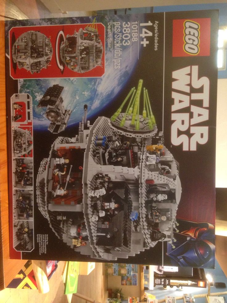 • Lego 10188 Death Star • 3803 pezzi, Lego Star Wars Death Star • Now available at Click on the Photo